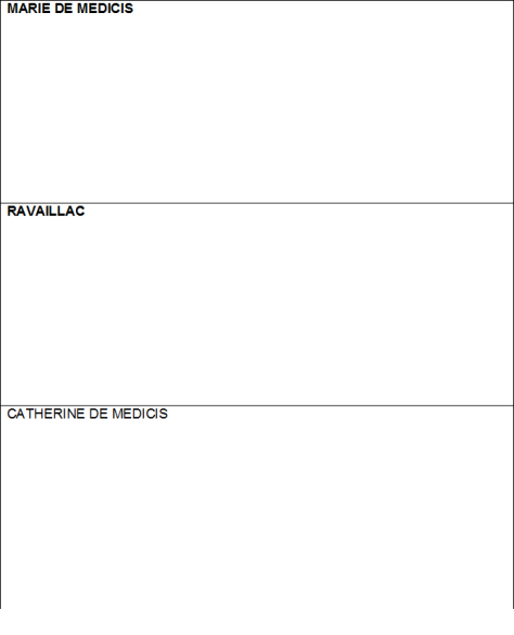 Cluedo fiche personnages tableau 3