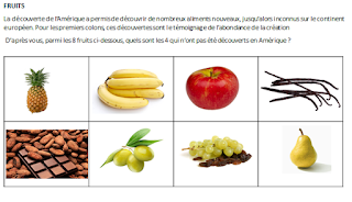 Jeu des intrus _Fruits